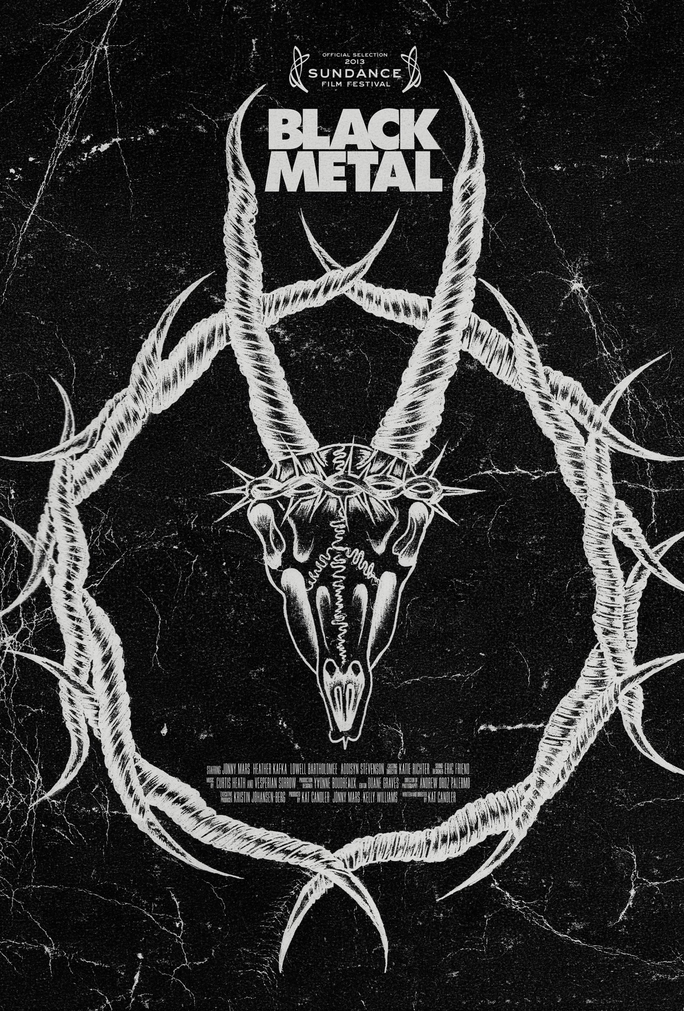 'Black Metal' movie poster