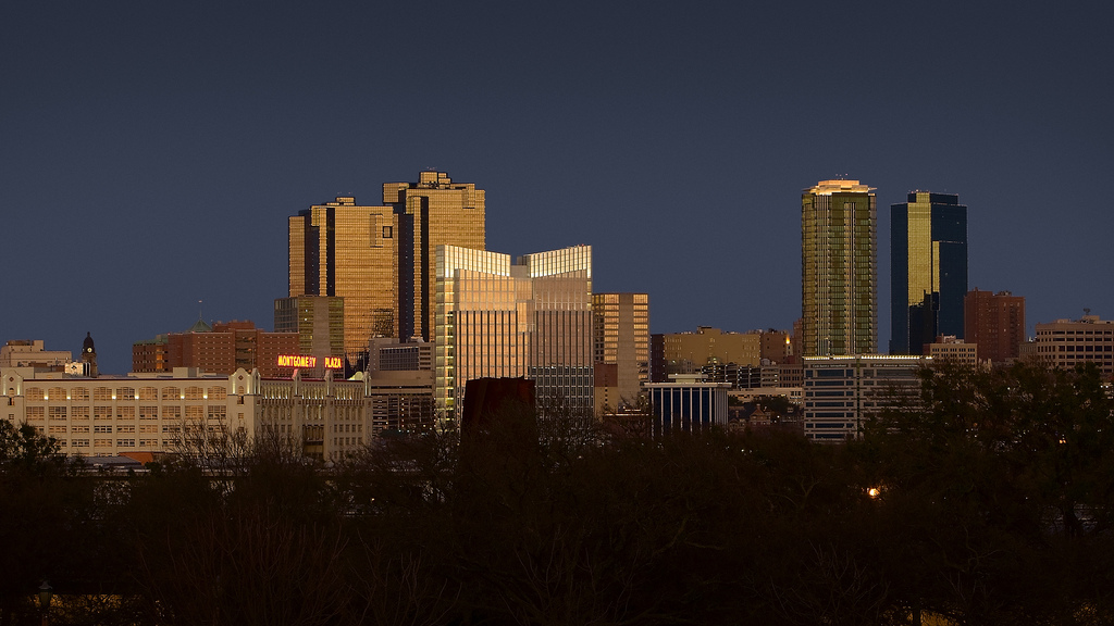 Fort Worth Skyline at Night