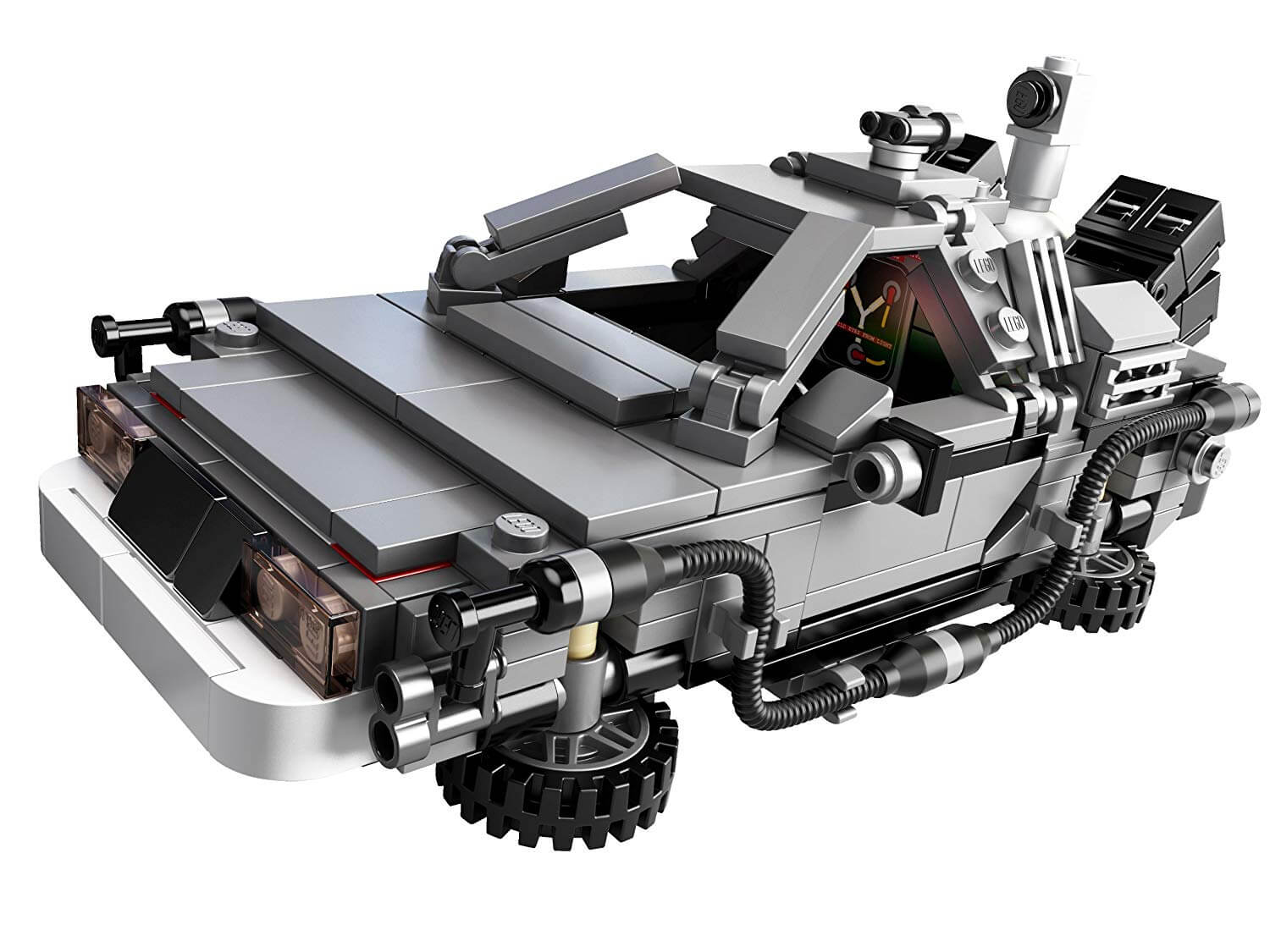 LEGO DeLorean Time Machine from 'Back to the Future'