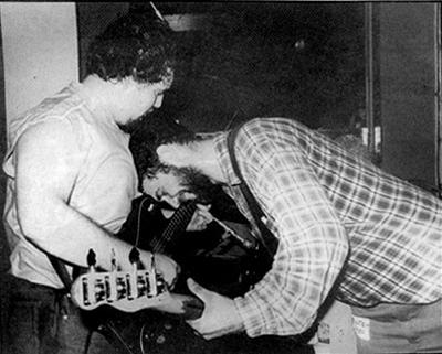 D. Boon & Mike Watt (Minutemen)