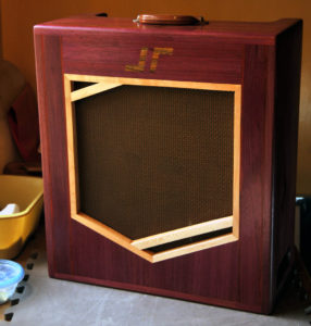 One of Kenny Wayne's Mockingbird Amps made for Jordan Richardson